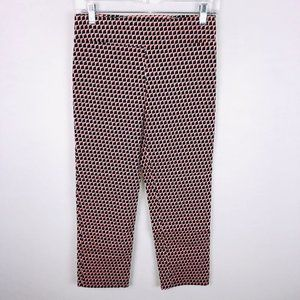 Margaret M Pull On Casual Pants Abstract Geo Print